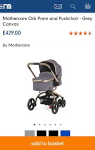Mothercare screenshot 2