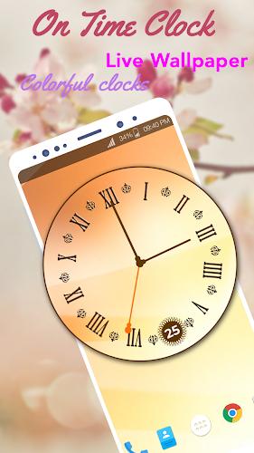 Download On Time Clock Live Wallpaper APK latest version App