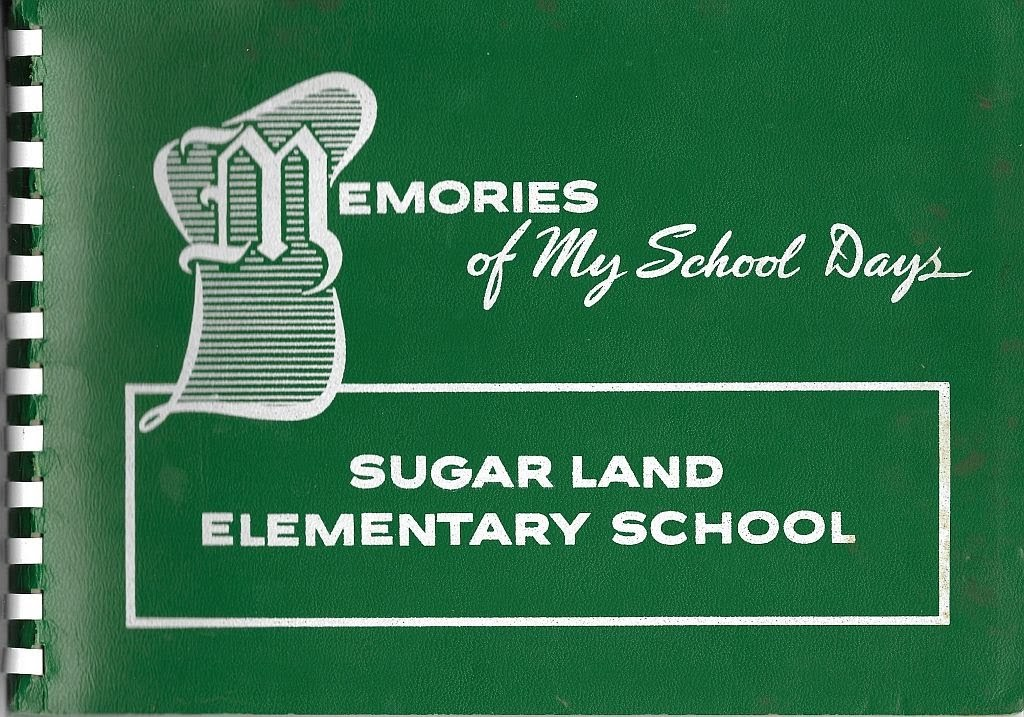 Sugar Land Elementary Annual 1960