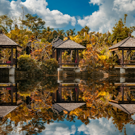 by Sam Song - City,  Street & Park  Vistas ( bali, reflection, indonesia,  )