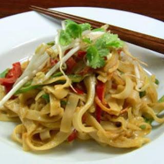 Satay Noodles.