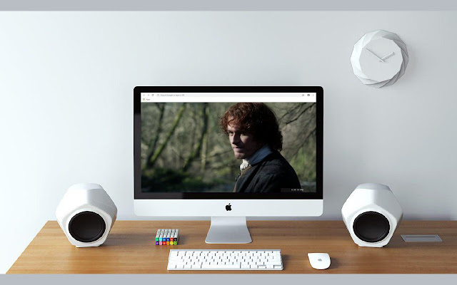 Sam Heughan New Tab & Wallpapers Collection