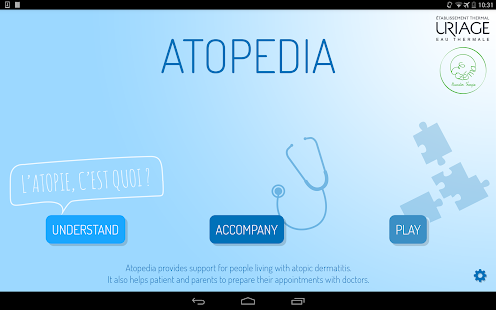 Atopedia- screenshot thumbnail