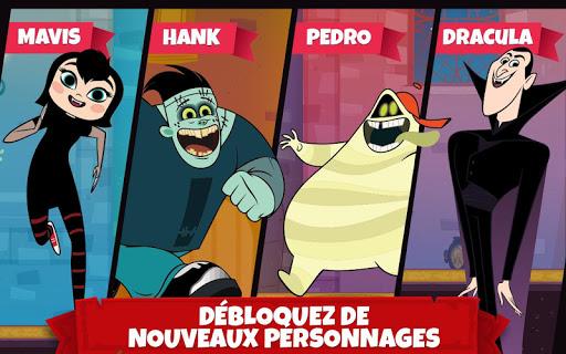 Aventures Hôtel Transylvanie -  Cours et bondis ! APK MOD – Pièces Illimitées (Astuce) screenshots hack proof 2