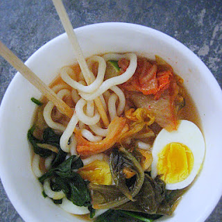 Kimchi Udon Noodle Soup