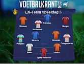 Het EK-team van speeldag 3, met 1 Red Flame en 3 Oranje Leeuwinnen