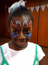 Photo: Elaborated Face Painting by Paola Gallardo from http://www.BestPartyPlanner.net