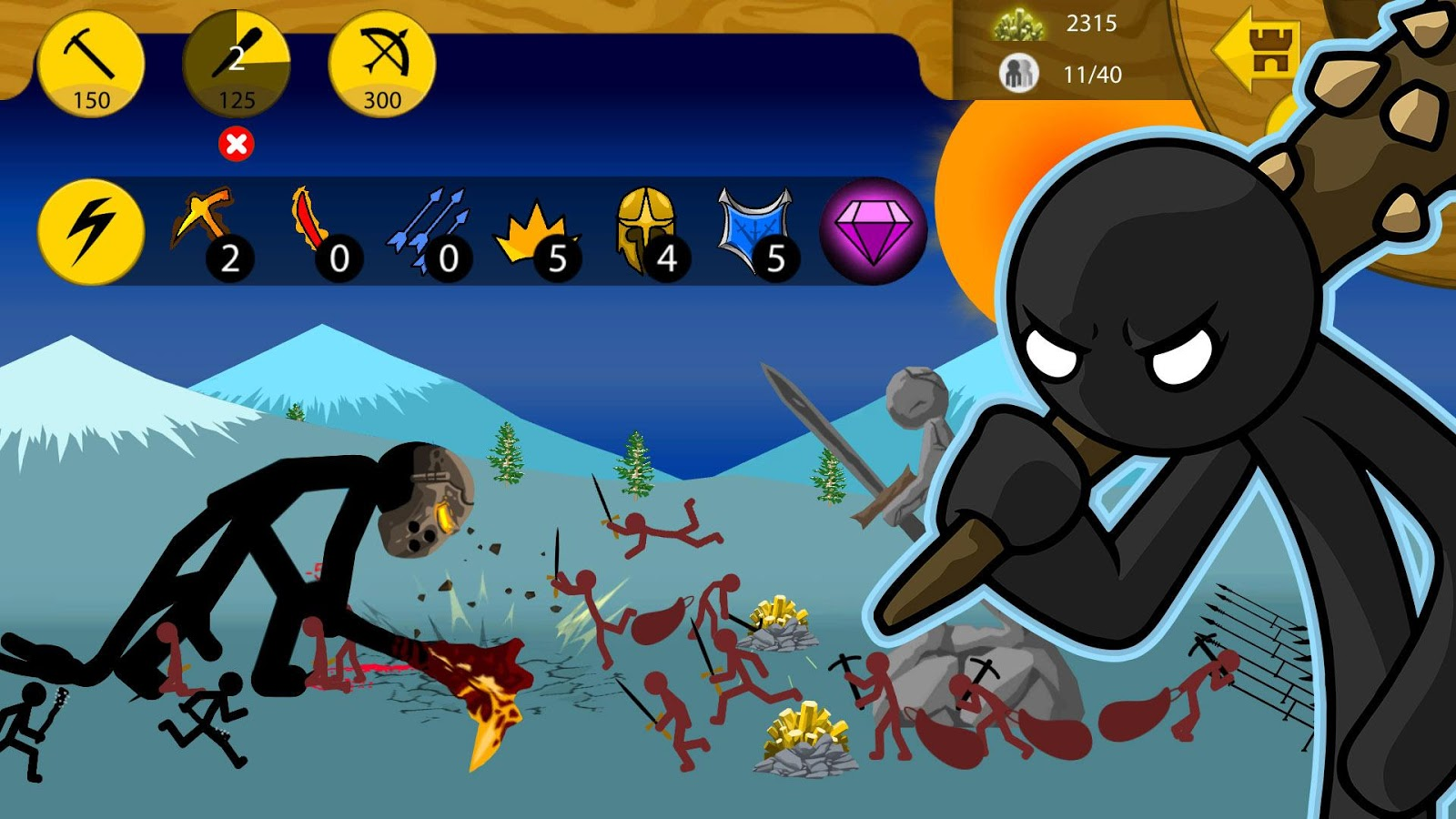 stick war character controls