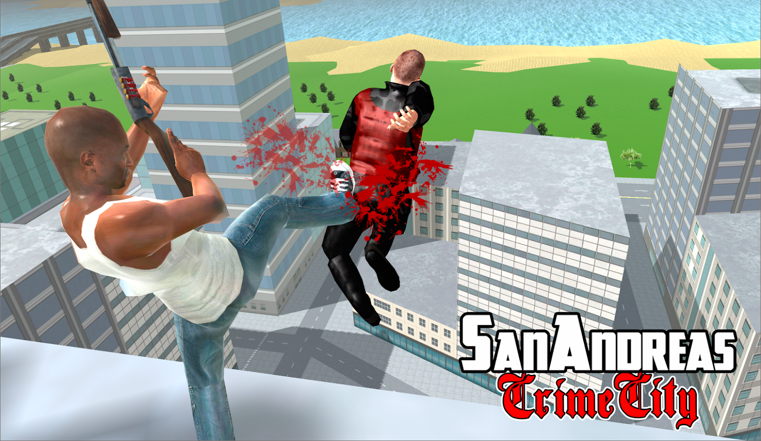 Screenshots of San Andreas Crime City for iPhone