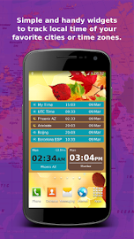 Bob's World Clock Widget Screenshot 3