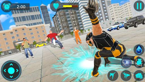 Code Triche Superhero Street Crime Infinity War APK MOD screenshots 6