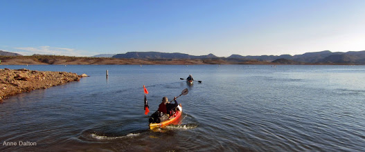 Photo: Starting off from 4-Lane boat ramp on North end of Lake Pleasant.