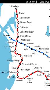 Mumbai Subway Map