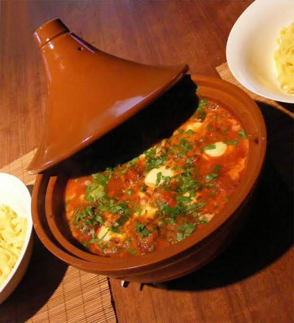 Lamb Tagine With Tomatoes And Potatoes Recipe