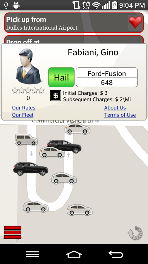 Taxi.US- screenshot