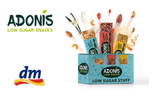 Bild für Cashback-Angebot: Adonis Nuss-Riegel Low-Sugar Probier-Mix-Box - Adonis