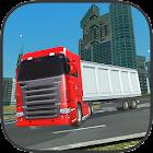 carga camión conducción sim icon