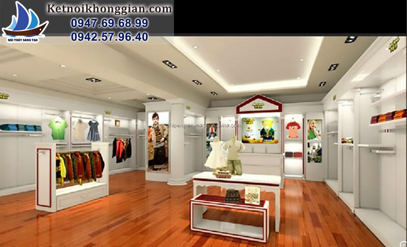 thiết kế cửa hàng hiện đại nhất việt nam