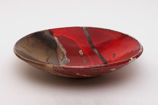 Bruce Chivers Ceramic Raku Charger 02