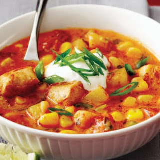 Weight Watchers Tex Mex–Style Chicken and Corn Soup