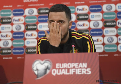 """Hazard wil België nog lang niet in de steek laten: """"Een EK, daarna een WK en dan nog een EK"""""""