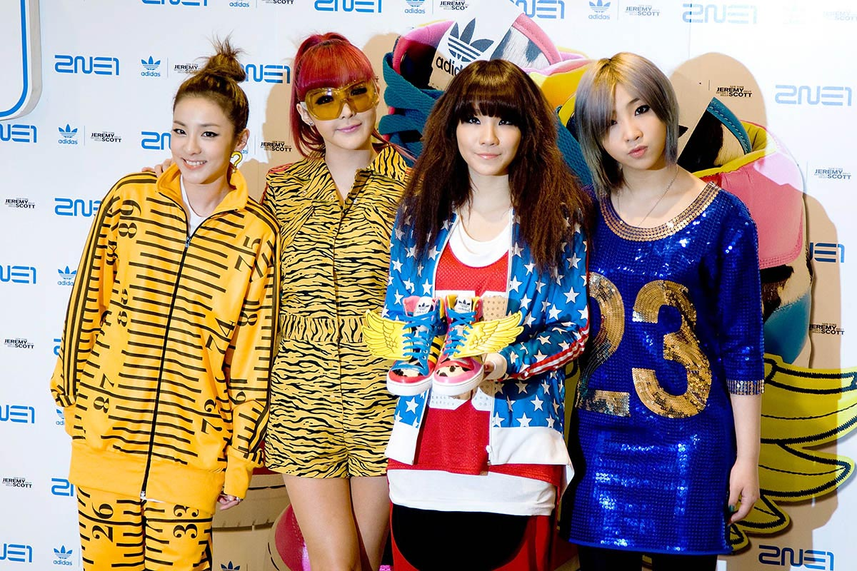 Adidas Originals Collaboration With Jeremy Scott And 2NE1 Launch