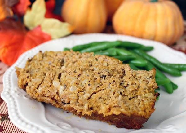 Turkey-pumpkin Meatloaf Recipe