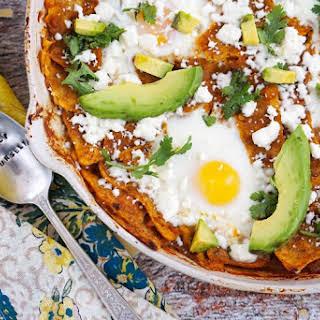Easy Breakfast Chilaquiles.