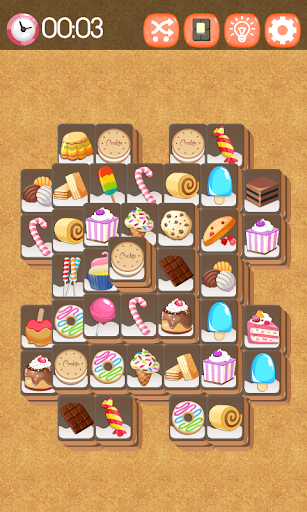 Mahjong Cookie & Candy - Free  screenshots 2