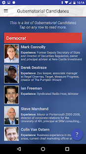 New Hampshire Voter Guide 2016- screenshot thumbnail