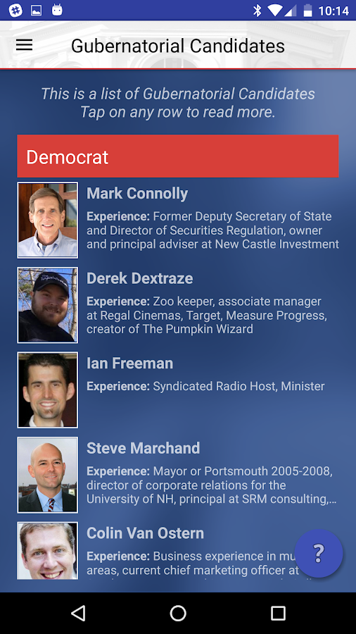 New Hampshire Voter Guide 2016- screenshot