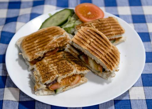 Loukaniko Hot Sandwich