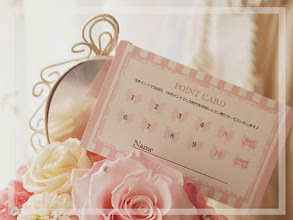 Photo: ~Flower Salon Richesse~様ポイントカード