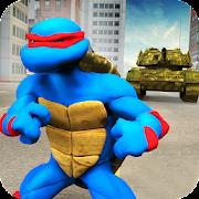 Turtle Warrior Dark Ninja: Tank Attack