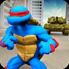 Turtle Warrior Dark Ninja: Tank Attack icon