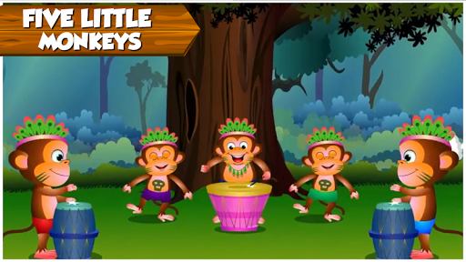 Kids Top Nursery Rhymes Videos - Offline Learning FiveLittle_v4.7 4