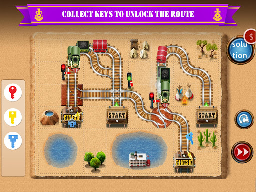 Rail Maze 2 : Train puzzler  gameplay | by HackJr.Pw 11