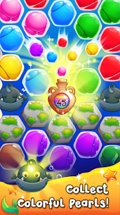Pearl Paradise - Hexa Match 3- screenshot thumbnail