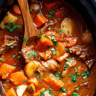Potato Stew Slow Cooker Recipes.