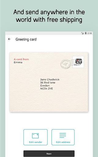 TouchNote: Cards & Gifts 7.4.4 screenshots 11