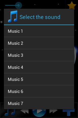 Sounds for sleep- screenshot