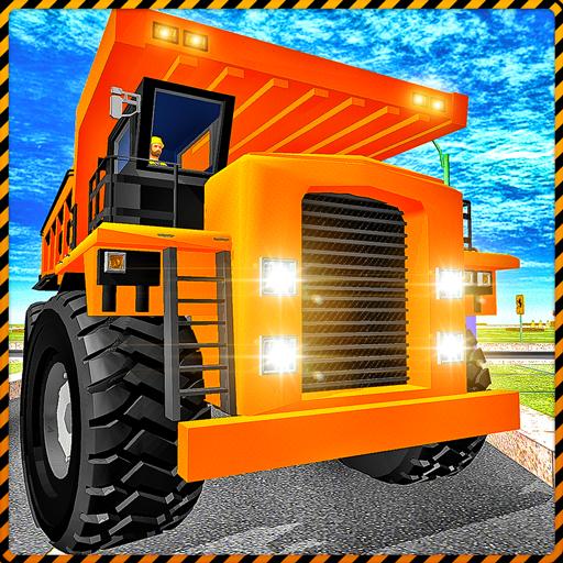 City Builder Tycoon Trucks - Construction Crane 3D