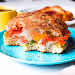 GoodFriday Smoked Salmon & Avocado Sandwich.