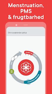 Menstruationskalender Clue: ægløsning & cyklus - Apps i