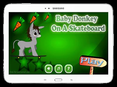 Baby Donkey On A Skateboard screenshot 8