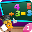 2nd Grade Math-Kids Numbers icon