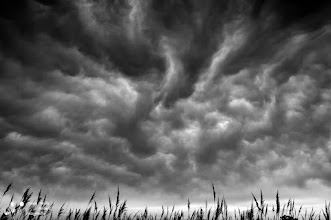 Photo: This is one of the most extraordinary skies I found. It is in the Ebro river delta