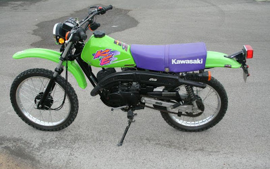 Kawasaki KE 100-manual-taller-despiece-mecanica