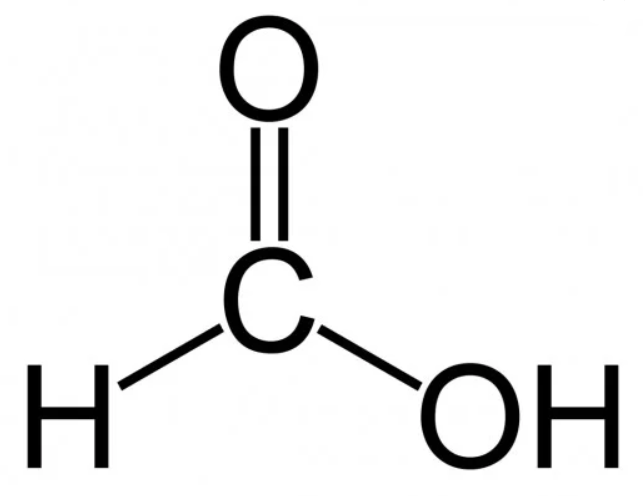 formic acid chemical structure