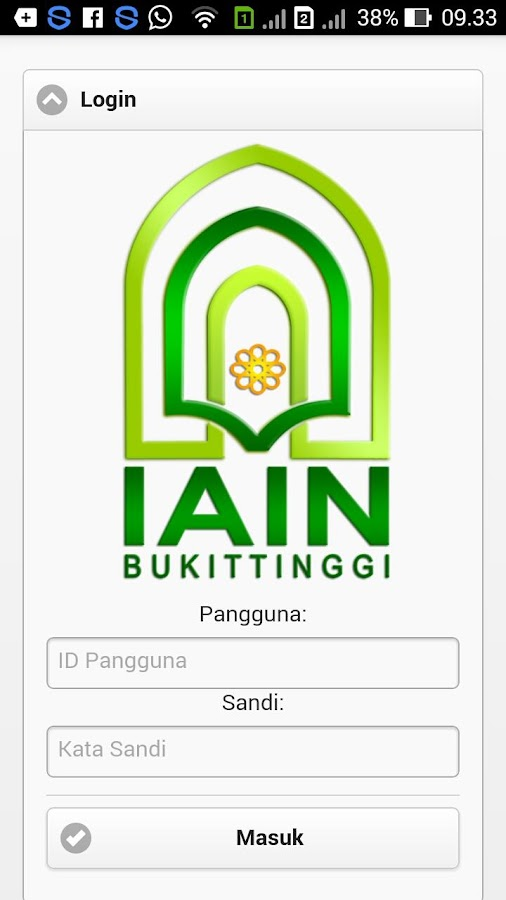 eCampus IAIN Bukittinggi- screenshot